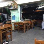 アウミンガラーバスセンターの始まりを近所のコーヒーショップで待つ