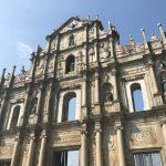 マカオに残るポルトガル建築に触れてみた